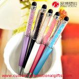 Ручка шарика ручки Ballpoint подарка промотирования изготовленный на заказ кристаллический