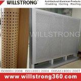 El panel compuesto de aluminio para la fachada del edificio