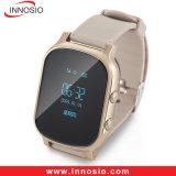 Slimme GSM GPRS van de Armband Jonge geitjes/het Oudere GPS Horloge van de Drijver met Ios/Androïde