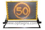 Control de tráfico móvil montado carro de la seguridad en carretera de Optraffic VM