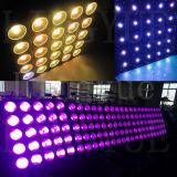 Luz dos antolhos da matriz do diodo emissor de luz das cabeças de RGBW 5X5 Cel 30W 25