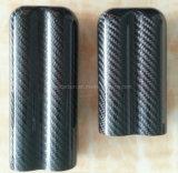 Caja de lujo del cigarrillo de la fibra del carbón de la alta calidad