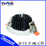 aluminio popular SMD5730 LED Downlight de 7W 12W 15W 20W 30W
