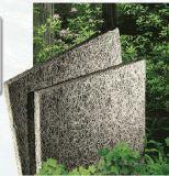 El panel acústico de la fibra de madera material insonora de la pared del fondo