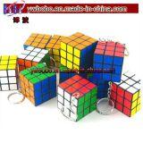 Le puzzle de cadeau de fête d'anniversaire de postes d'usager cube les produits promotionnels de trousseau de clés (G8056)