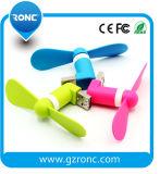 Förderung-Geschenk beweglicher Pocket Mini-USB-Ventilator mit Firmenzeichen