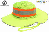 Высокий шлем ведра рыболовства видимости с отражательными панелями