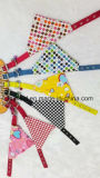 犬によって印刷されるスカーフの綿ペットバンダナ