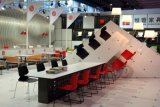 Стул конференц-зала En16139 стандартный штабелируя PP