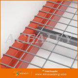 Decking de treillis métallique pour le support sélectif de palette