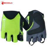 Fahrrad Glove Fingerless Summer Cycling Glove mit SBR für Men und Women Three Colorways