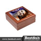 """Caixa de jóia """" X6 """" de madeira telhada cerâmica de Bestsub 6 (SPH66BR)"""