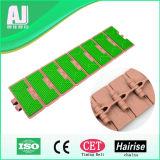 Tipo antiderrapagem corrente transportadora plástica do produto comestível (Har820FH-K325)