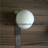 中国の工場はウールの洗濯のきれいな球を6詰める