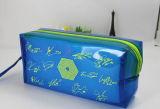 De kleurrijke Waterdichte Zak van de Pen van pvc van de Ritssluiting Plastic