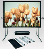 Pantalla rápida /Fast del doblez de /Fast de la pantalla del doblez plegable la pantalla con el material del frente y de la parte posterior