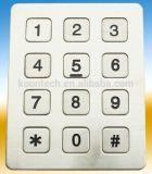 Des Vandalen-IP55 Tastaturblock K6 Beweis-des Edelstahl-4*4