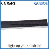 Linha da trilha da instalação dos acessórios da luz do gabinete do diodo emissor de luz