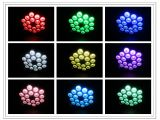 더 밝은 실내 18PCS Rgbaw 5in1 Aliminum LED 효력 빛