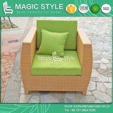 Sofà esterno del salotto della mobilia del sofà del sofà del rattan del sofà del giardino della mobilia della mobilia di vimini classica del patio