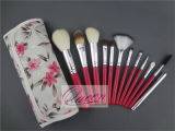 12PCS Synthetic HairおよびWood Handle Professional Makeup Brush Set