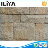 Pietra perforata del fuoco, mattone di silicone del mattone di fuoco, pietra artificiale coltivata rivestimento della parete dell'impiallacciatura (YLD-32004)