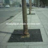 FRP GRP Decrotive Grating Cover для Protecting Trees