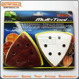 herramientas abrasivas de madera 20PCS y del metal que mueven hacia atrás el papel de lija del triángulo