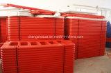 Spedetto nella recinzione di plastica della barriera di sicurezza dei contenitori