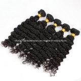 Человеческие волосы бразильянина Direct Sale 5A Grade Kinky Curly фабрики