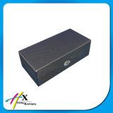 Casella di legno rivestita impaccante della fibra del carbonio di memoria della vigilanza della scanalatura della casella 4 della fibra di lusso del carbonio