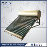 Calefator de água solar da câmara de ar de vácuo do telhado com câmara de ar de vácuo