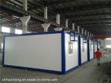 De vlakke Fabrikant van het Sta-caravan van het Pak Modulaire Duurzame Enige Brede