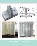 Квадрат струбцина ванной комнаты 180 градусов стеклянная подходящий (CR-G29)