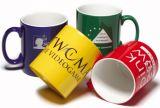 Tazza di ceramica promozionale con il disegno di marchio del cliente