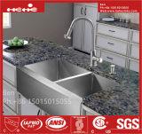 Edelstahl-Schutzblech Fornt Radius-Doppelt-Filterglocke-handgemachte Küche-Wanne mit CSA Bescheinigung