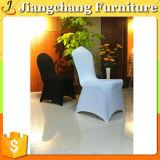 結婚式(JC-YT1636)のための100%年のポリエステル緑のホテルのスパンデックスの椅子カバー