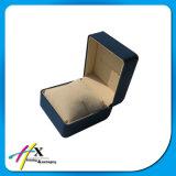 Einzelne Farbe beschichtete niedriger Preis-Uhr-Geschenk-Kasten-Uhr-verpackenkasten mit grossem Kissen