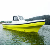 30FT CER Certification japanisches Style Fiberglass Fishing Boat Yacht