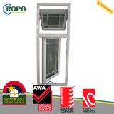 Diseño plástico moderno de la parrilla de ventana de cristal de la resistencia del viento de UPVC buen