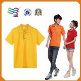 Douane die de Slanke Geschikte Sneldrogende T-shirt van het Polo van de Sport (hYT-S 03) afdrukken