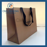 Brown Luxury Model Clothes Packing Bag com Logo (CMG-MAY-025)
