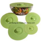 Reutilizable de silicona Food Esta carcasa de aspiración Tapa para Contenedor, Pan, Pot, Bowl, la Copa