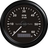 Migliore Sale 85mm Tachometer RPM Gauge 6000rpm per All Engines con Backlight