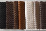 Tela tingida Cation escovada do sofá de dois tons com teste padrão de bambu