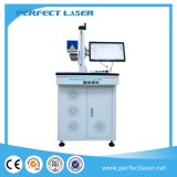 type de bureau de 10W 20W système d'inscription de laser de fibre de datte de logo pour le métal