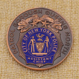 Police Challenge Coin Die 주문 Cast 뉴욕 시