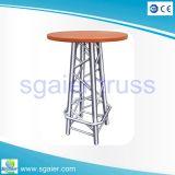 Aluminiumcocktail-Tabellen-Stab-Tabellen-Kaffeetisch-Stab-Möbel