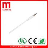 Тональнозвуковой кабель 3.5mm заплаты 1/8 Mono мужчин к кабелю аудиоего мыжской штепсельной вилки