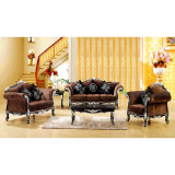 Hölzernes Sofa für Wohnzimmer-Möbel und Hauptmöbel (D650)